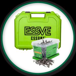 ESSVE ROOSTEVABA A4 4,5X55 C5 2250TK + ESSBOX MIN