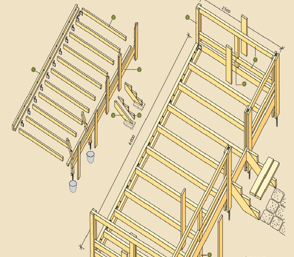 terrassi-konstruktsioon